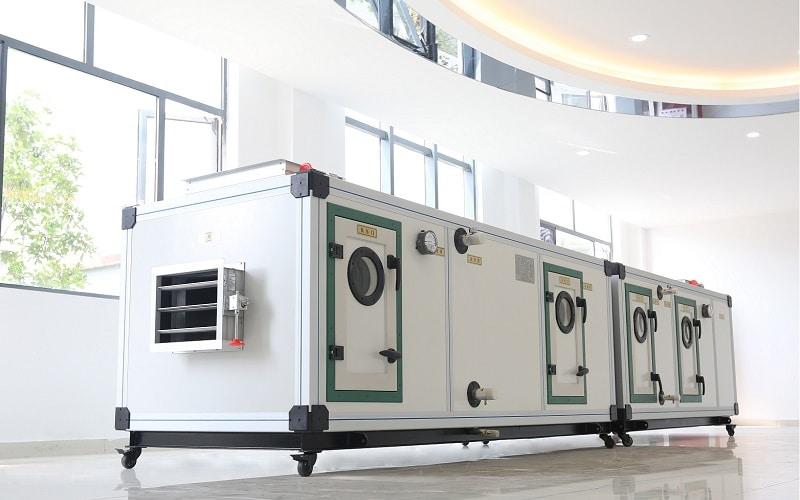 bonifica UTA unità trattamento aria
